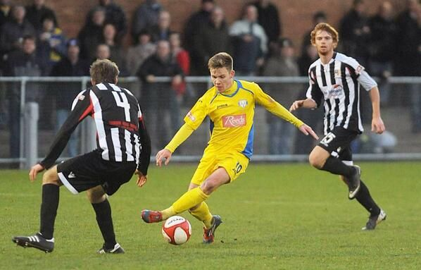 Jake Jones,  King's Lynn Town FC,  2013.