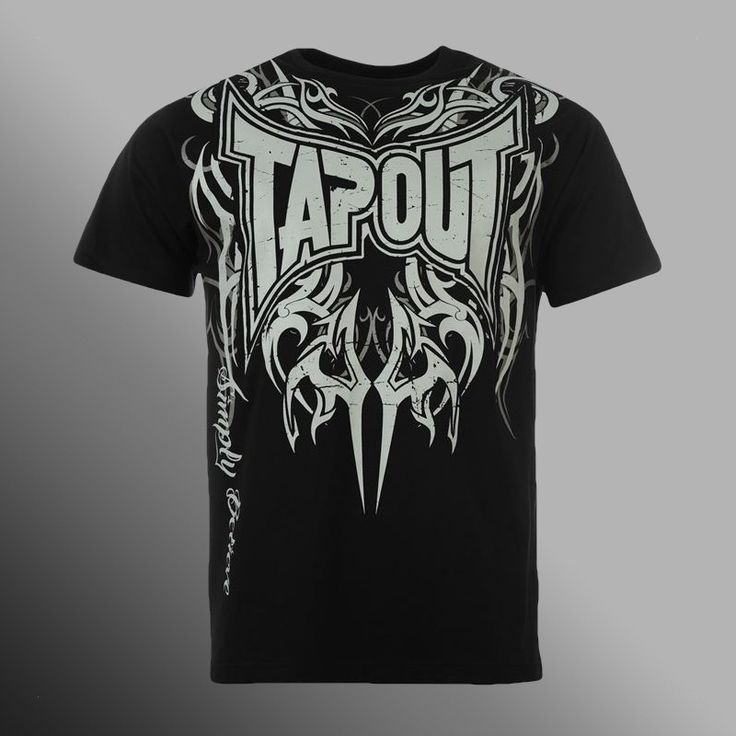 Tričko Tapout Simply Believe black