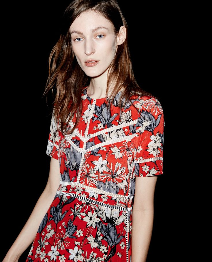 Silk dress Tulip print - The Kooples