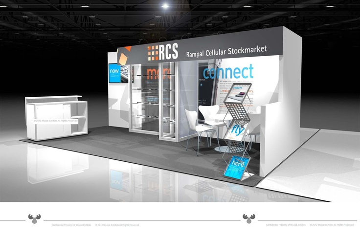 Exhibition Booth Design D : Trade show booth design concept