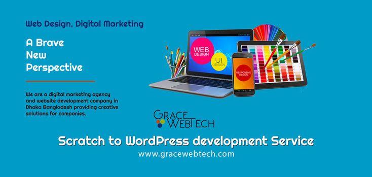 9 best grace web tech images on pinterest business dental and scratch to wordpress development grace web tech best professional reheart Choice Image