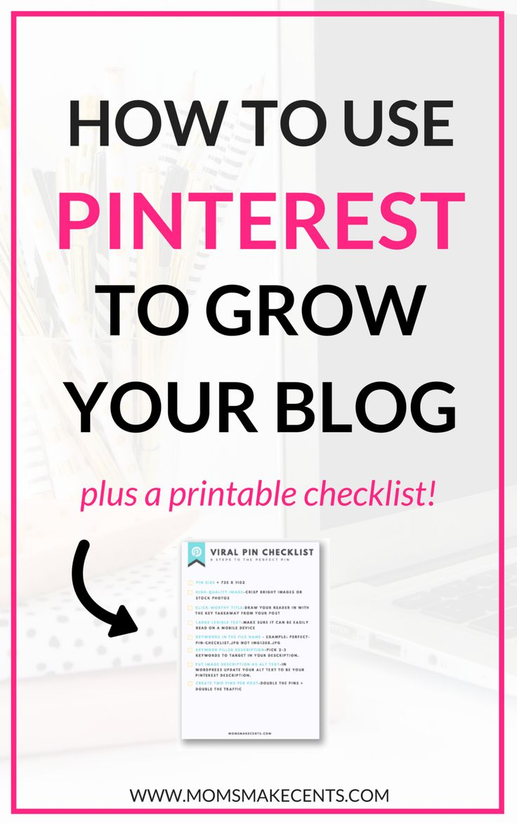 Want to grow your blog with Pinterest? These ten strategies will help you create a Pinterest account that will skyrocket your blog traffic. Plus, click through to get your Viral Pin Cheat Sheet!