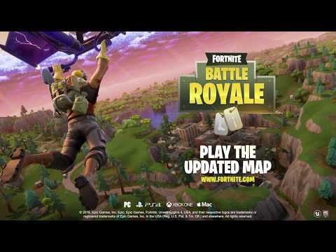fortnite battle royale has gotten a big map update along with some important technical changes under the hood as it celebrates more record numbers - sandbox fortnite