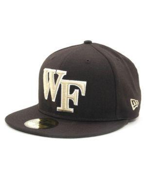 New Era Wake Forest Demon Deacons 59FIFTY Cap - Black 7 1/8