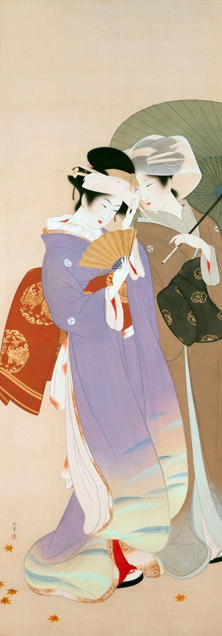 Uemura Shōen (For more see archive: http://artemisdreaming.tumblr.com/search/Uemura+Sh%C5%8Den)