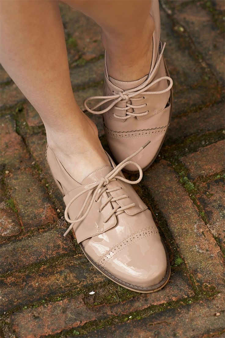 Next Patent Cut Out Lace-Up Shoes - EziBuy New Zealand
