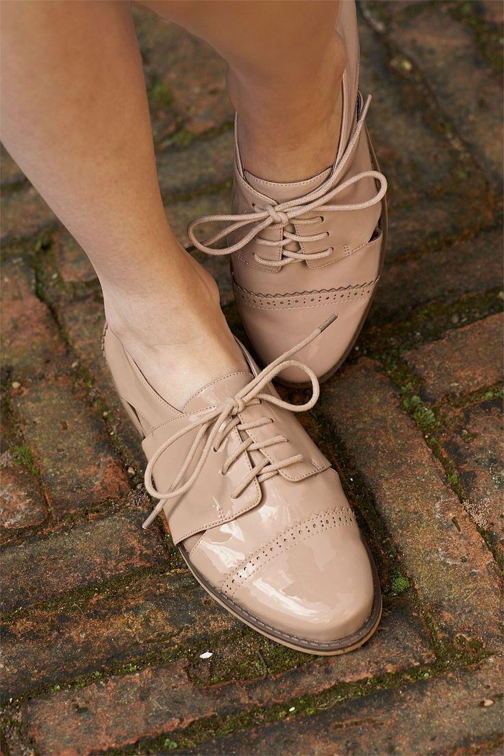 Next Patent Cut Out Lace-Up Shoes - EziBuy New Zealand