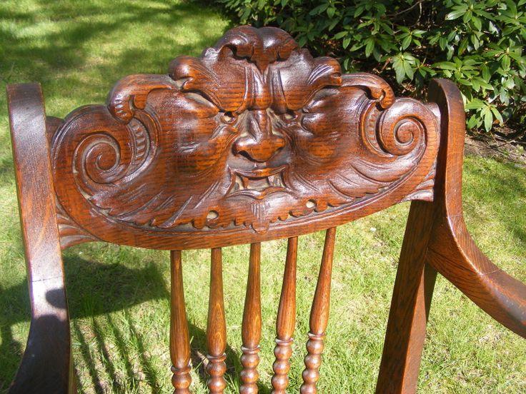 Antique Northwind Oak Chair Ebay North Wind