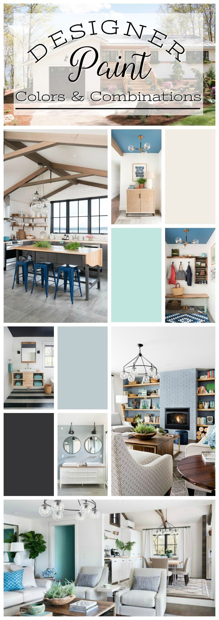 Inspirational Wall Paint Colour Palettes