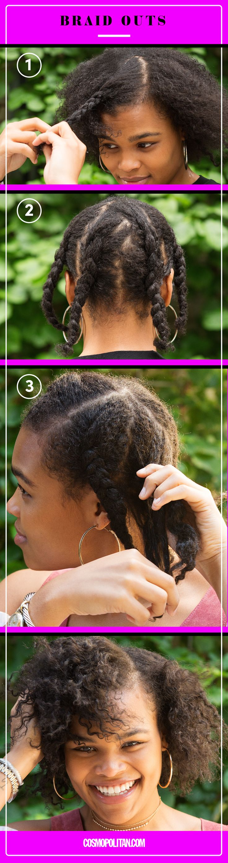9 Easy No-Heat Ways to Style Wet Hair - Cosmopolitan.com
