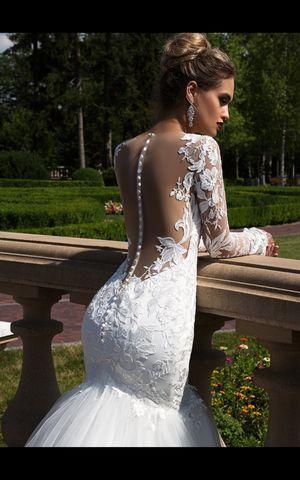 Wedding dress lace by Designer Torez