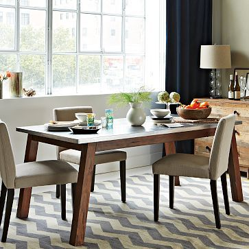 Mix + Match Table - Solid Wood #WestElm