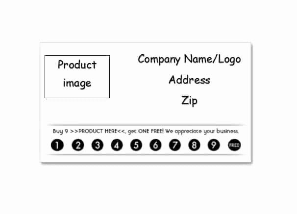 Punch Card Template Free Downloads Lovely 30 Printable Punch Reward Card Templates Free Card Templates Free Punch Cards Card Templates