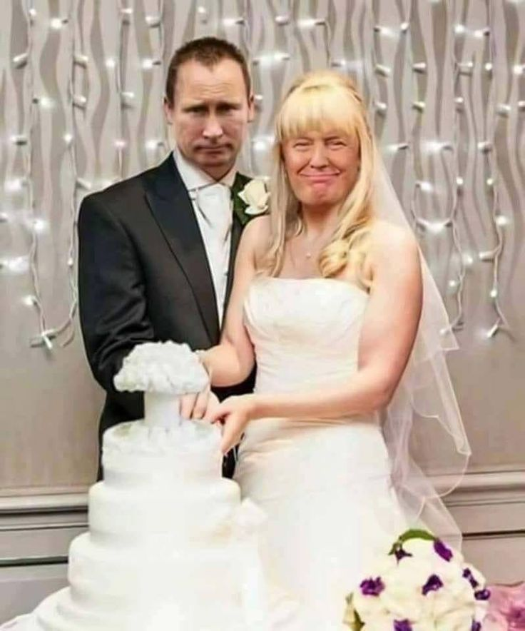 The love affair between Putin and Trump.
