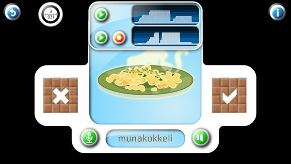 Professor Ninja Finnish / Pronunciation: You can record each word or phrase yourself, and compare your recording to the original.