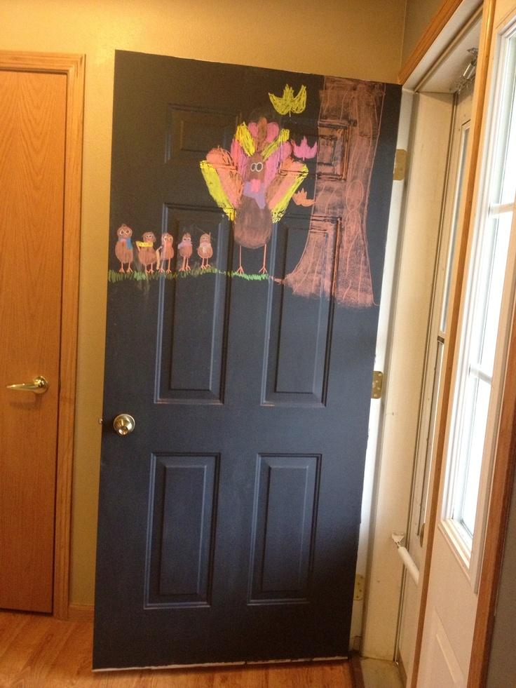 9 best ideas about front door color ideas on pinterest for Chalk paint door