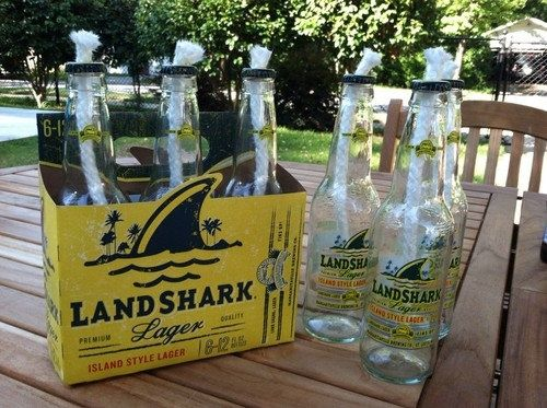 Goin Coastal   Goin Coastal / Land Shark Beer Bottle Tiki Torches by torches123 on ...