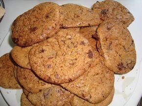 Koekjes met chocoladestukjes in de thermomix, Recepten - Thermomix recepten, Gette.org