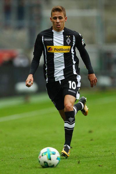 Thorgan Hazard of Moenchengladbach during the Bundesliga match between Borussia Moenchengladbach and Hannover 96 at Borussia-Park on September 30, 2017 in Moenchengladbach, Germany.