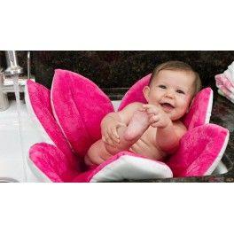 Bañera flor para crear una cunita en el fregadero para el baño bebé