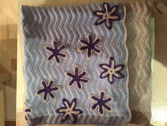 copertina fatta a mano, baby blanket, handcrafted blanket, coperta per neonato, pura lana