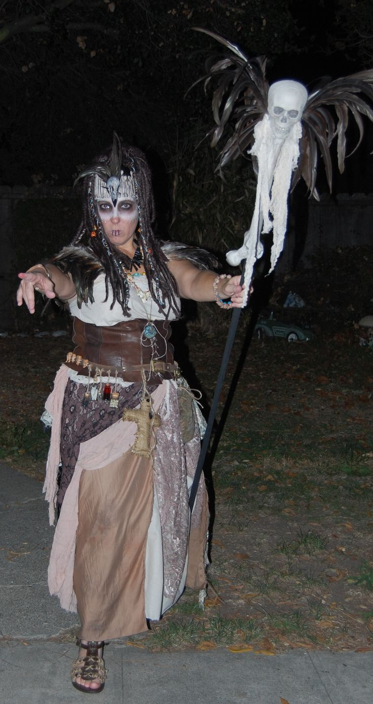 This is my Voodoo witch doctor costume | My creations | Pinterest ...