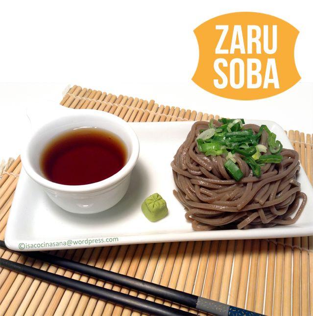 Zaru Soba (Fideos de trigo sarraceno o alforfón) | Isa Cocina Sana