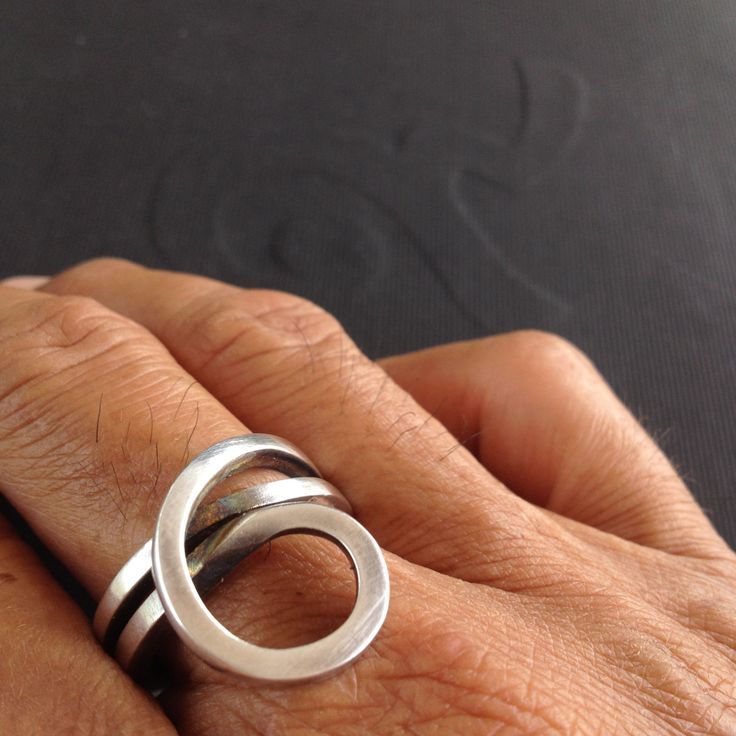 Sterling Silver Rings,Modern Jewelry,Hand Made Item and Original Designs,Unique,...