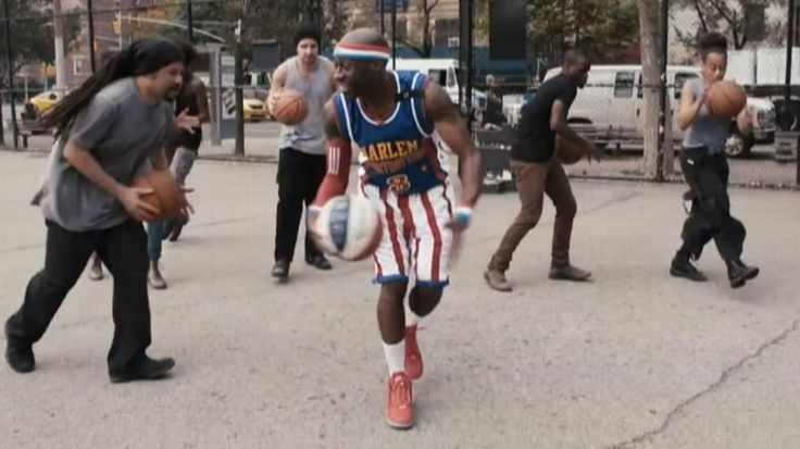 Harlem Globetrotters and STOMP create basketball music - ESPN Video