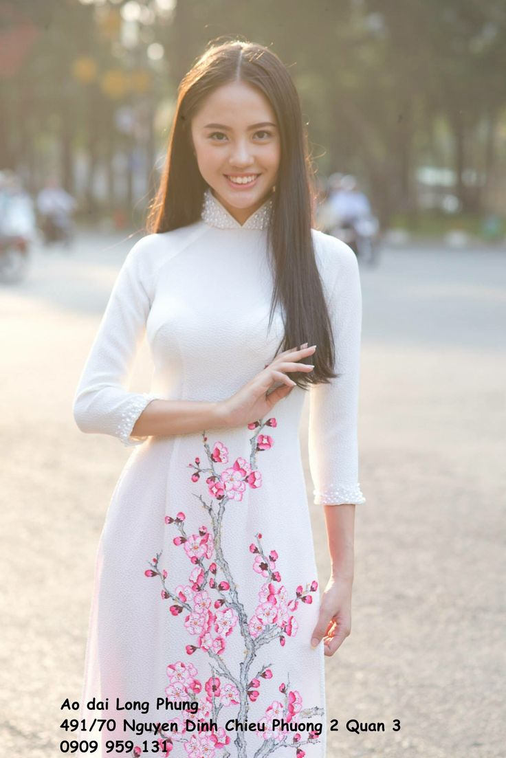 1000 Images About Ao Dai Vietnam On Pinterest