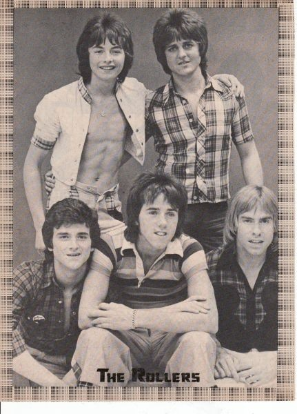 Bay City Rollers.I really loved the Bay City Rollers Woody was my favorite.Please check out my website thanks. www.photopix.co.nz