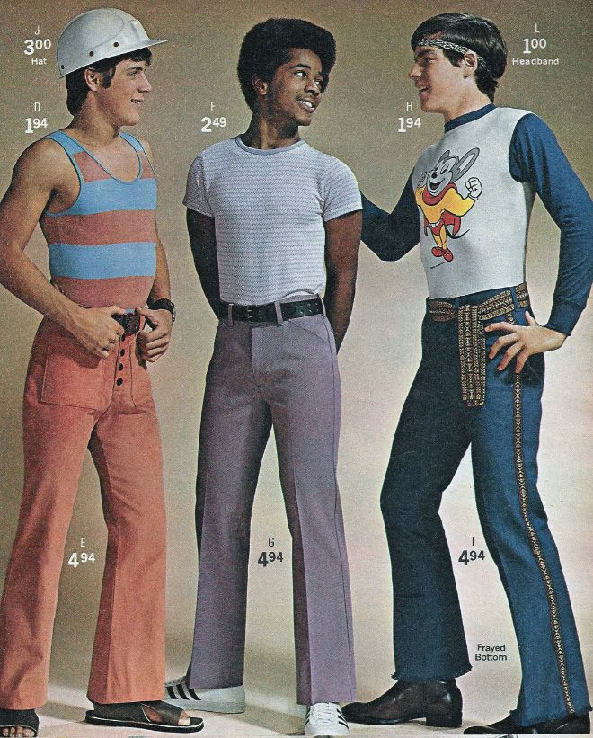 70s Men's Fashion Ads - Hot Penguin