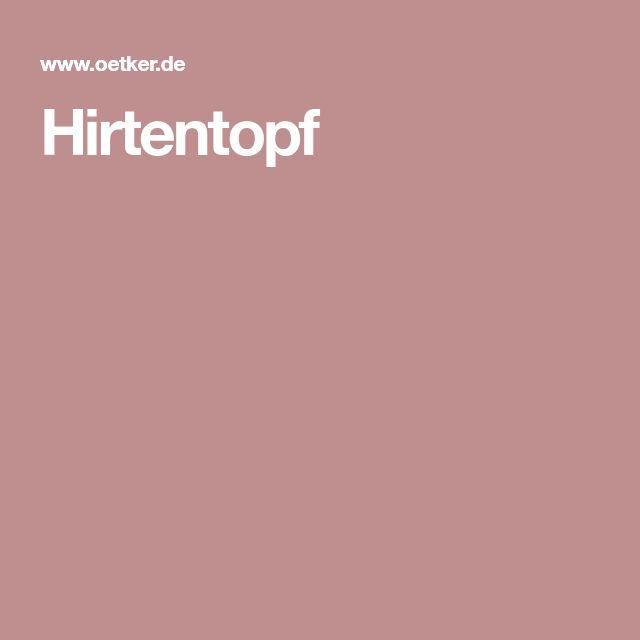 Hirtentopf