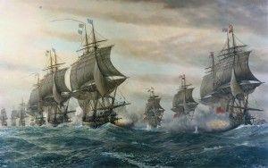 5 septembre 1781: bataille de la Cheasapeake http://jemesouviens.biz/?p=2387