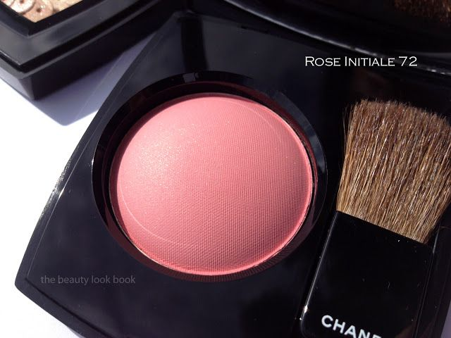 Chanel Rose Initiale Powder Blush #72 - Fall 2012 | The Beauty Lookbook