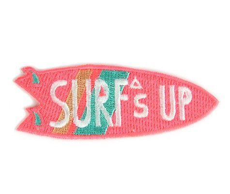 Mokuyobi Surf's Up Iron-on Patch