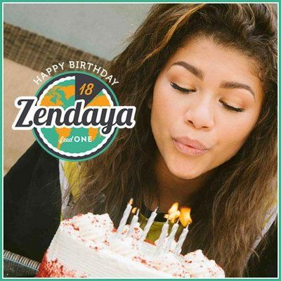Today is Zendaya's 18'th Birthday! :D HAPPY BIRTHDAY TO AN AMAZING WOMAN <3 love ya :D