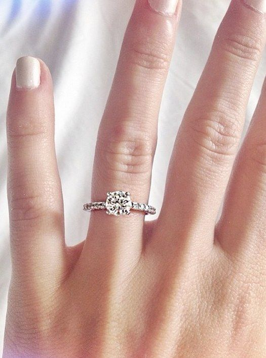 Colleen Ballingeru0027s #engagement #ring. The PERFECT #ring. Hands Down   I