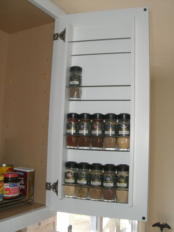 25 best ideas about minimalist kitchen spice racks on for Carousel spice racks for kitchen cabinets