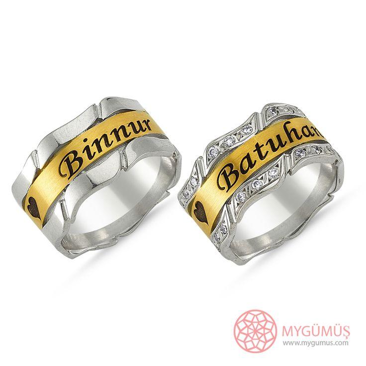 Gümüş Alyans MYA1005   #gümüş #alyans #çelik #yüzük #ring #wedding #evlilik #düğün #söz #nişan #mygumus #mygumuscom #çift #erkek #kadın #woman #man #moda #takı #jewellry