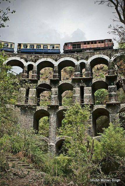 Ride the Kalka Shimla Railway (#UNESCO World Heritage Site)!