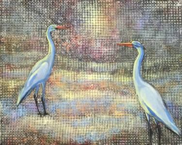 "Saatchi Art Artist Agata Padol; Painting, ""Between"" #art"