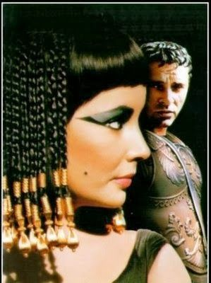 Cleopatra and Julius Caesar | cleopatra and julius caesar in one of the movies you can t really ...