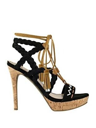 Adrita Braided Sandals | shop.GUESS.com