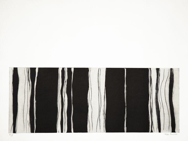 Lise Moller - Sin Título II - Aguatinta sobre papel