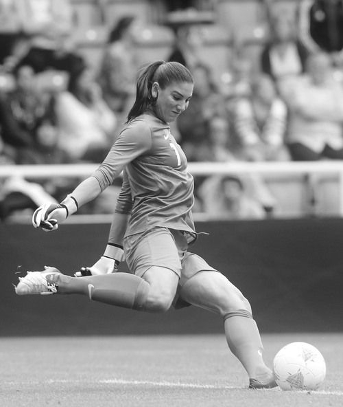 Hope Solo. Still remember our handshake... :)