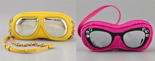 La borsa maschera da sub di Marc Jacobs e gli occhiali da neve di LeSportsac