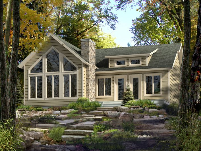 Aspen i by beaver homes and cottages includes virtual for Beaver home designs