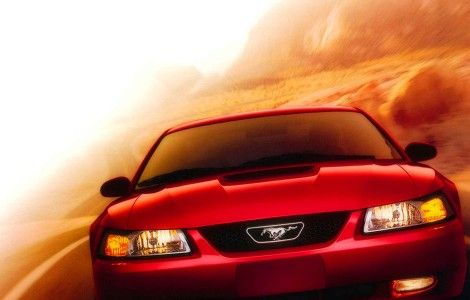 Ford Mustang New Red