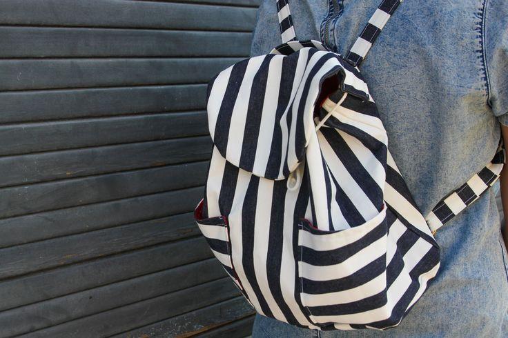 Patron de couture sac à dos Nino de chez petitpatron.com